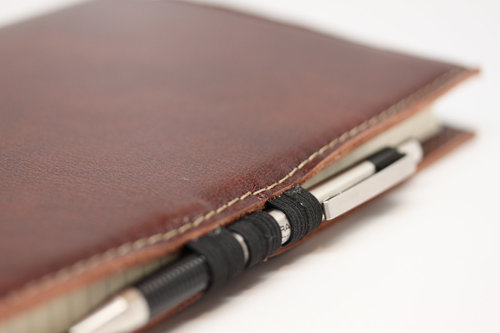 7c9c2aa81ff6 Hand Made in USA - Smooth and Rich Brown Leather Journal   Art Book holder.
