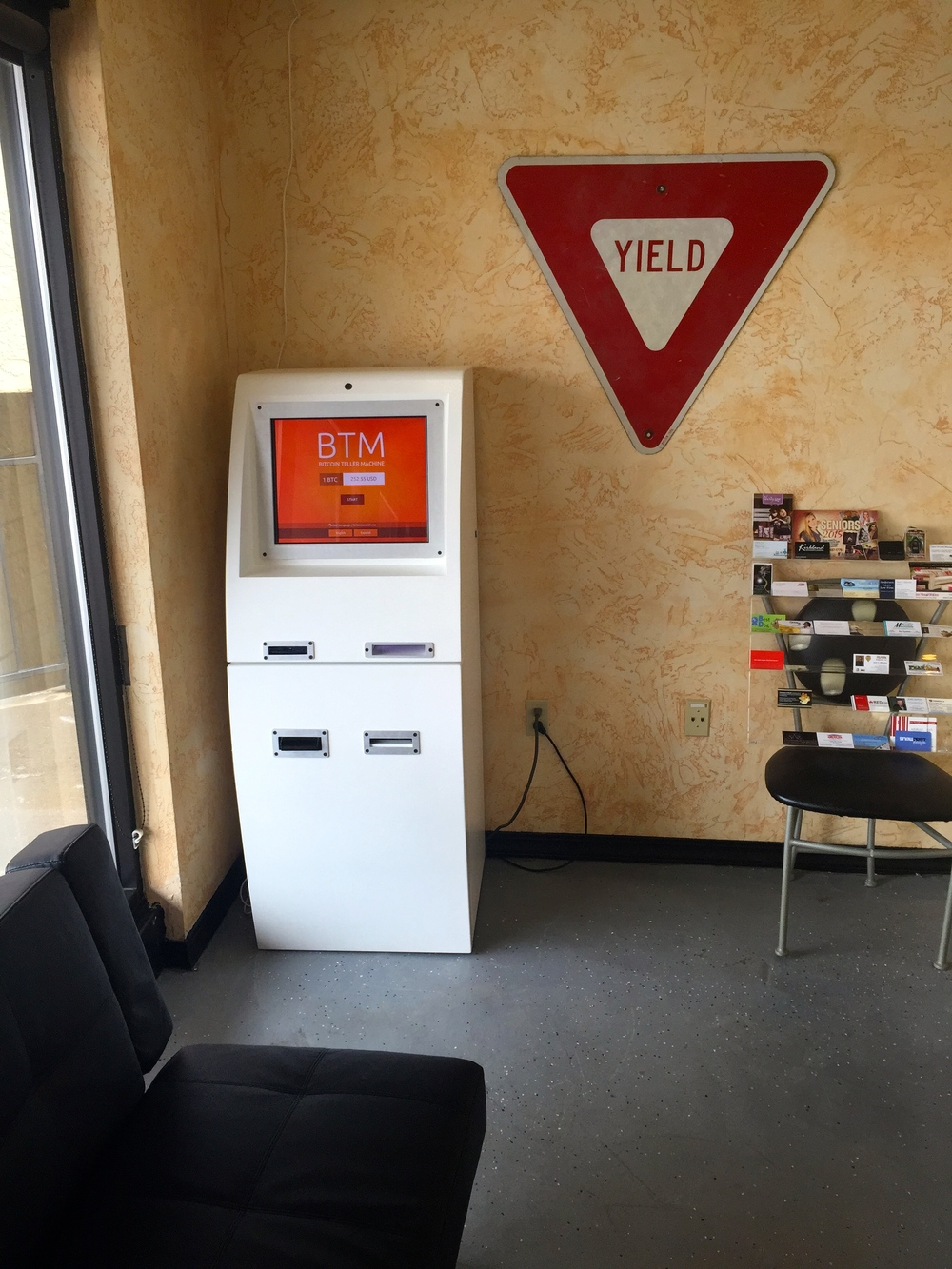 XBTeller Bitcoin ATM inside Cruisers. Monument, Colorado