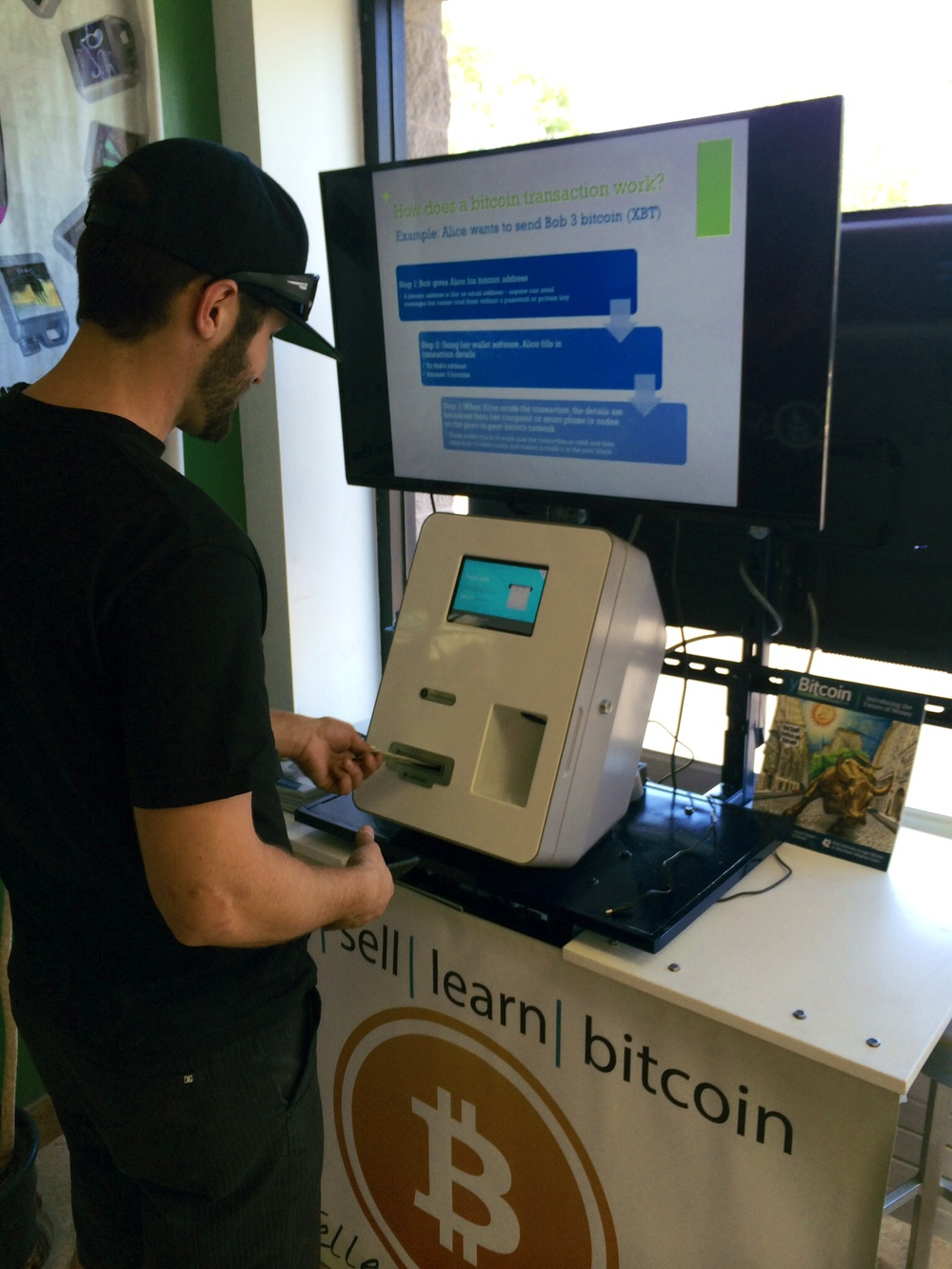 XBTeller Bitcoin ATM inside The Big Tomato