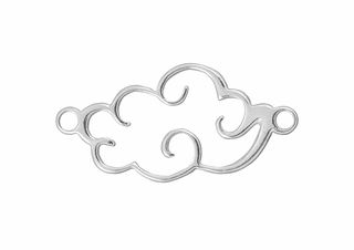 Amoracast Sterling Silver 13 x 25mm Large Cloud Link starting at $6.75