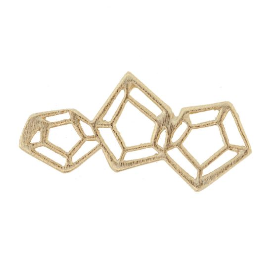 Diamond Cut Cluster Component by Amoracast - 9mm  $6.38