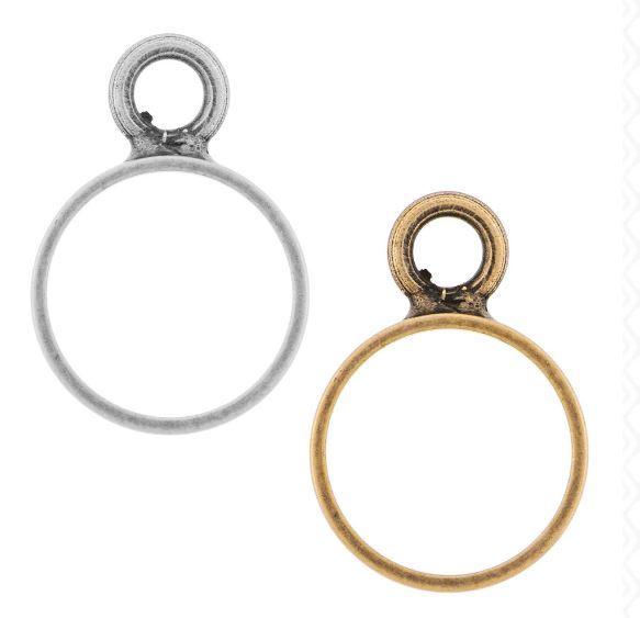 Brass Circle Open Frame by Nunn Design  $1.66-$2.55