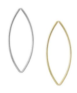 Precious Metal Marquise Wire Component (sterling silver, gold-filled, rose gold-filled)  $2.62-$5.28