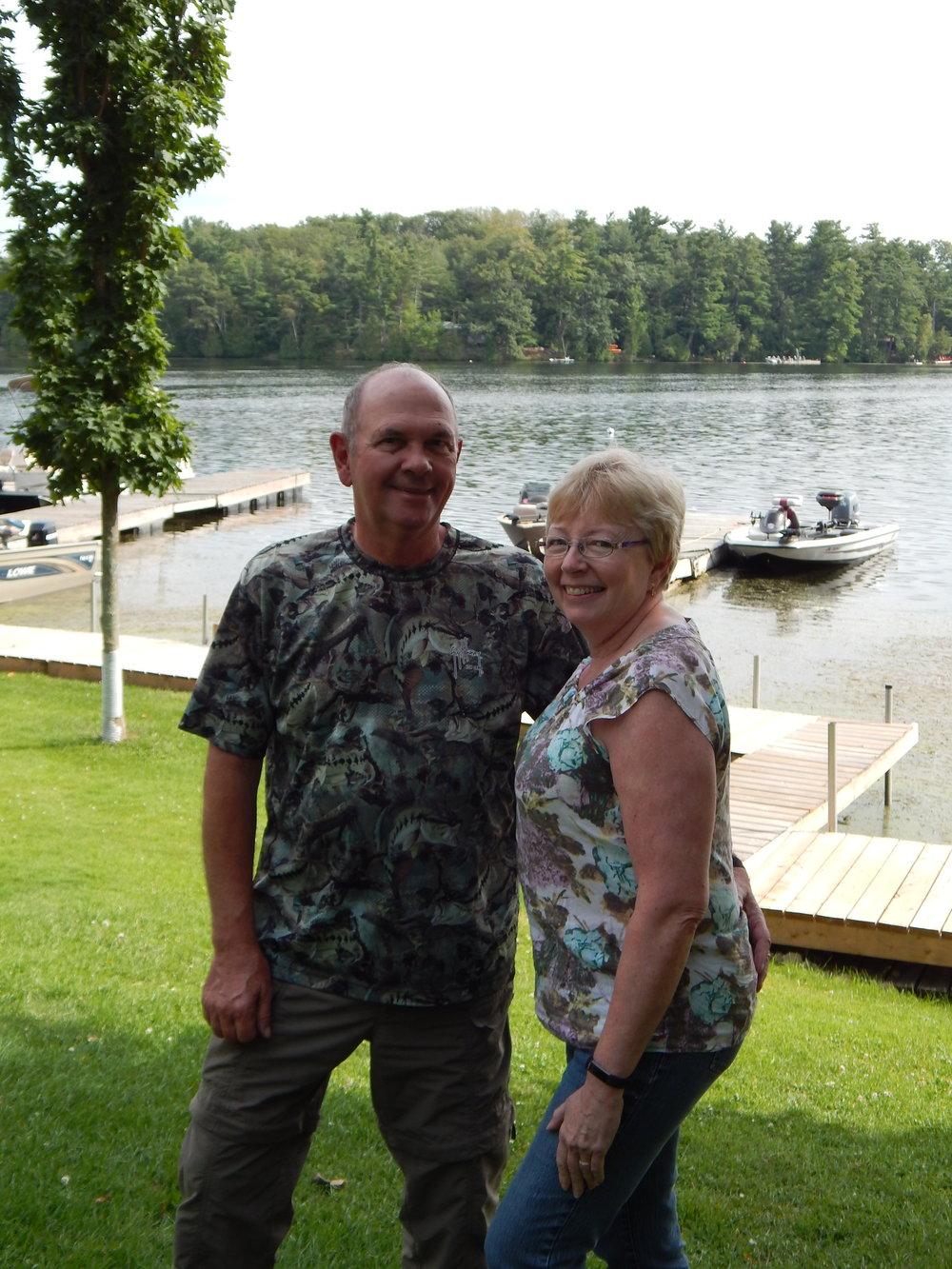 Owners, Rick & Joan