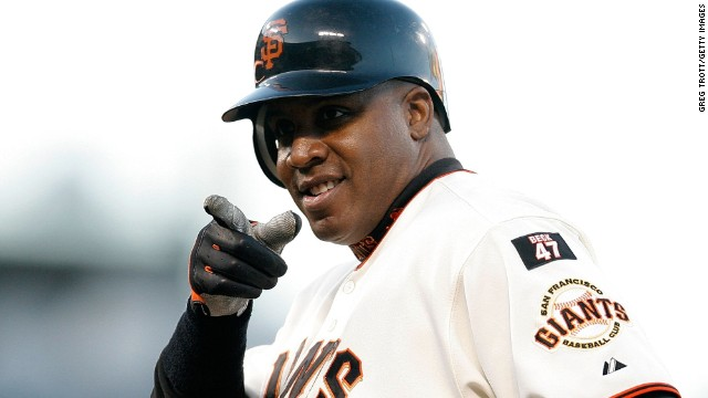 3. Barry Bonds - Barry Bonds, LFCareer: 1986-2007, Pirates, GiantsFun fact: Single-season (73) and career (762) home run leaderI don't know for sure what funky vitamins Barry Bonds took or didn't take. I just know the stuff he did on the field still boggles my mind.In 2004, he reached base 376 times, walked 232 times and was intentionally walked 120 times. In one year. And my favorite Bonds stat: Even with no hits that year, he would've had a higher OBP than the man who led the league in hits. --Jayson Stark