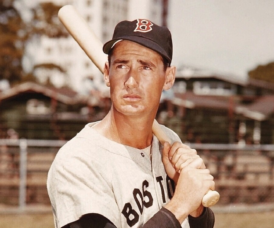 4. Ted Williams - Ted Williams, LFCareer: Red Sox, 1939-60Fun fact: .344 hitter; zero 200-hit seasonsThe Splendid Splinter carried a bat to class in high school and once proclaimed,
