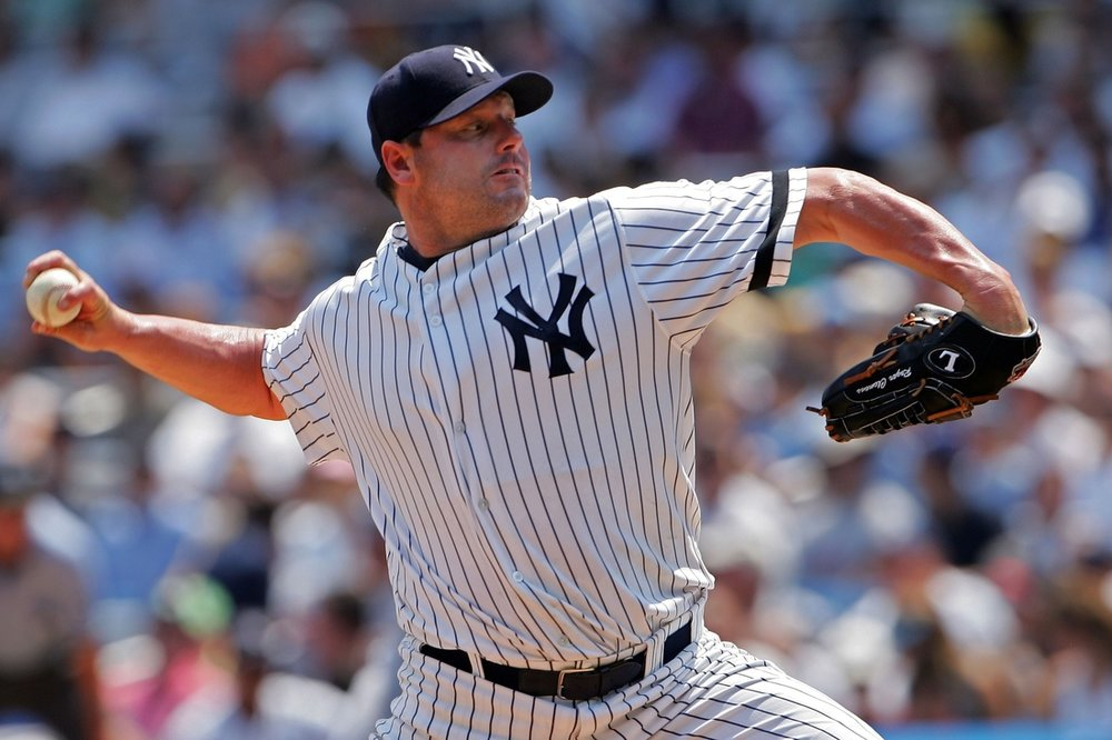 7. Roger Clemens - Roger Clemens, RHPCareer: 1984-2007, Red Sox, Blue Jays, Yankees, AstrosFun fact: Record seven Cy YoungsThe images flash through your mind: the 20 strikeouts against Seattle, the TV shot of him nervously watching the end of Game 6 in the '86 World Series, the meltdown in the 1990 playoffs, another 20-strikeout game, the dominance in Toronto, finally getting a ring, Game 7 in 2001.Seven Cy Youngs and 354 wins … then the end. What will you remember? --David Schoenfield