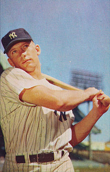 9. Mickey Mantle - Mickey Mantle, CFCareer: 1951-68, YankeesFun fact: World Series-record 18 homersNamed after Hall of Fame catcher Mickey Cochrane, Mantle hit home runs as far as Babe Ruth from both sides of the plate and when young could run like the wind.He won three MVP Awards and could have won more. He drank too much and his knees went bad, but there's still only one Mick.