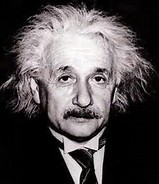Albert Einstein  (1879-1955) was a theoretical physicist of the highest degree. His main achievements include: the general theory of relativity, the Manhattan Project, and-the equation that changed the field of science forever- E=mc^2.