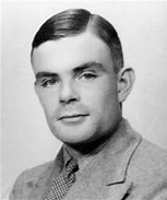 Alan Turing  (1912-1954) was a English computer scientist, logician, theoretical biologist, and mathematician. His main works included the Turing Test-which checked to see if you are talking to a computer or a human being-and his help in breaking Nazi codes during World War II.