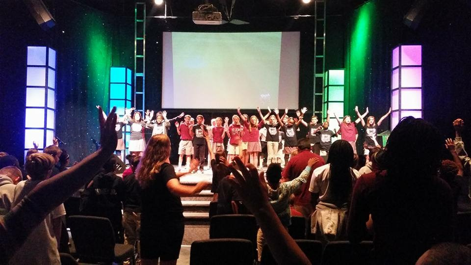 Each week, our elementary students get the opportunity to lead and participate in chapel.
