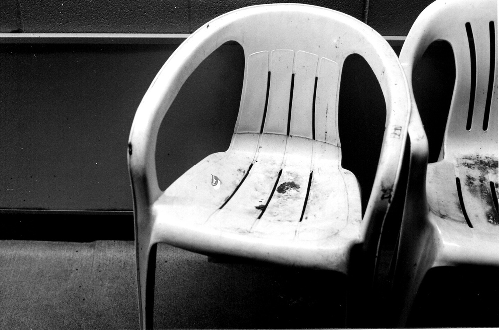 Chairs Outside Convenience Store, Greenwood
