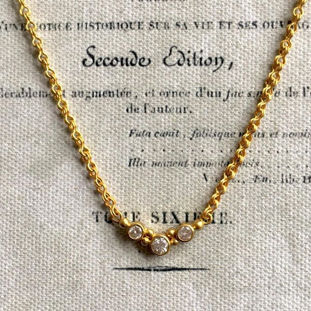 Everyday, always.  #diamonds #handmadechain #22kgold #oneofakind #designerjewelry