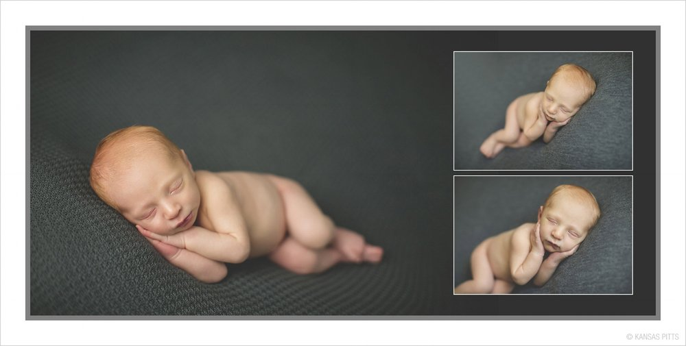 Studio Elle Design - newborn picture album