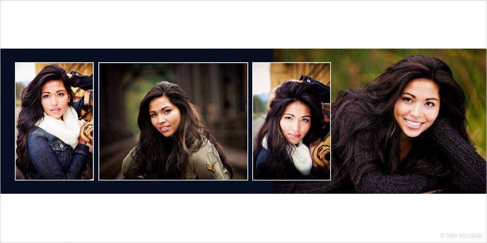 Studio Elle Design - Book for senior photos