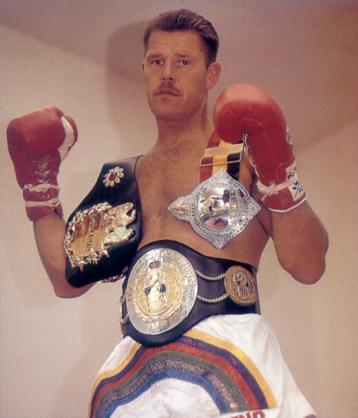 Kickboxing Legend Rob Kaman