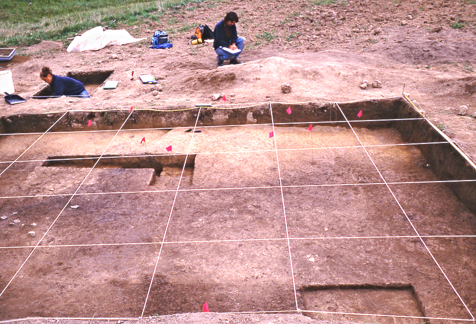 Excavation in Coxsackie, Greene County