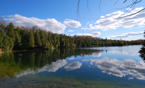 Crawford Lake, Ontario. Photo by Sorin Nechita