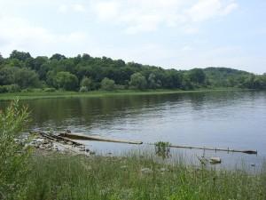 Hudson River at Coxsackie, NY  Photo Credit: Doug Kerr
