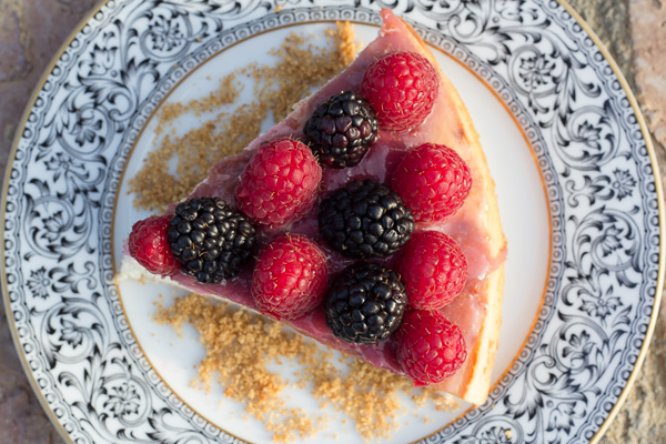 Sugar-free low fat cheesecake