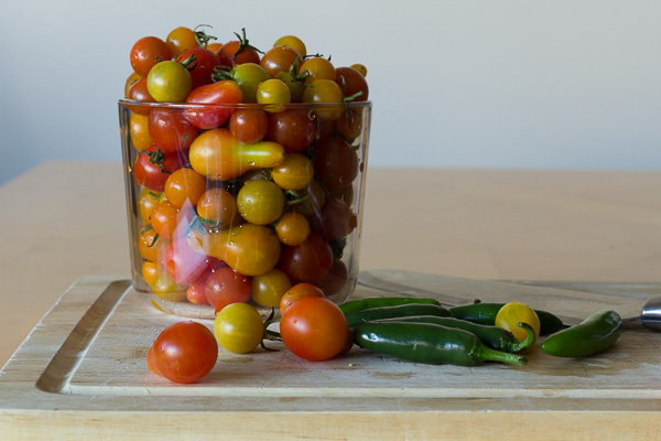 Mmm...cherry tomatoes galore!
