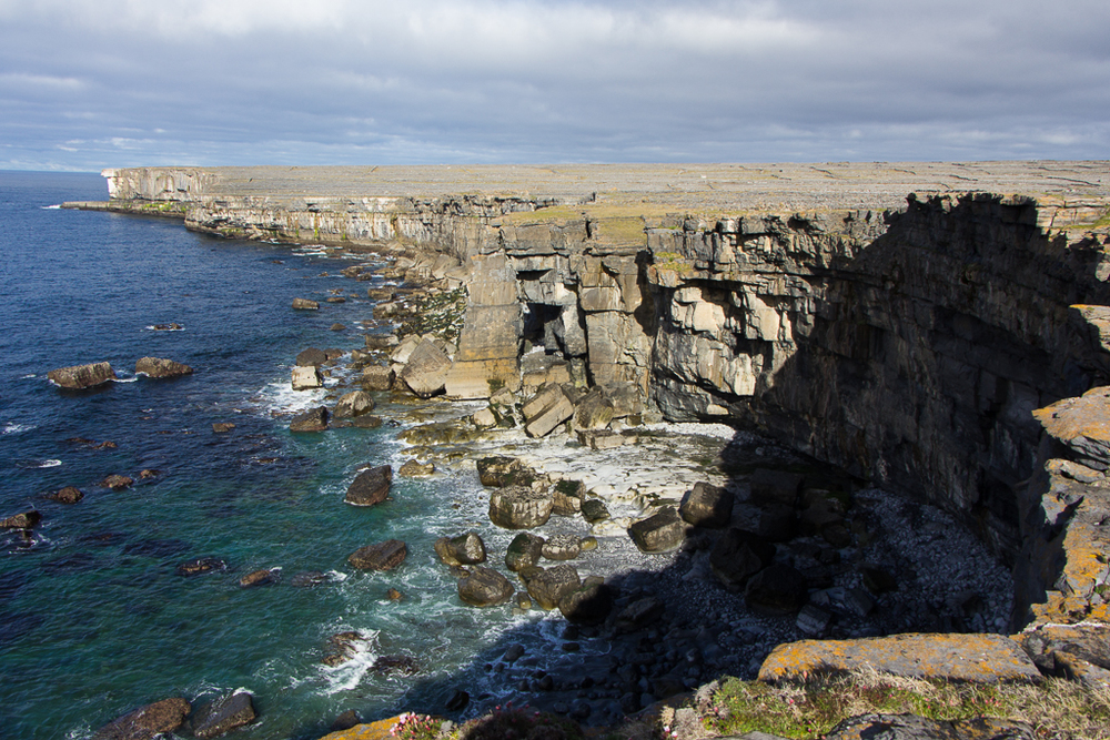 Coastal Cliff Line