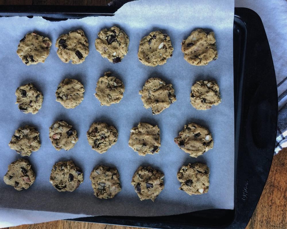Gluten free vegan almond cookie recipe