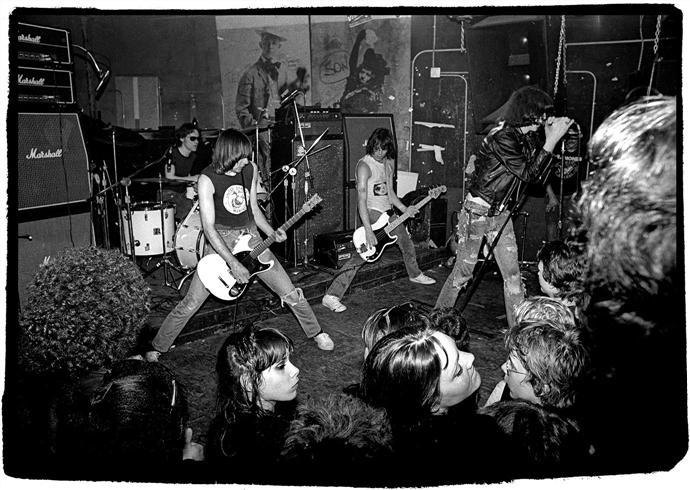 The Ramones at CBGB