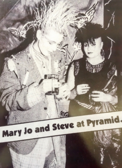 "Joey ""Mary Jo"" : 80s punk queen."