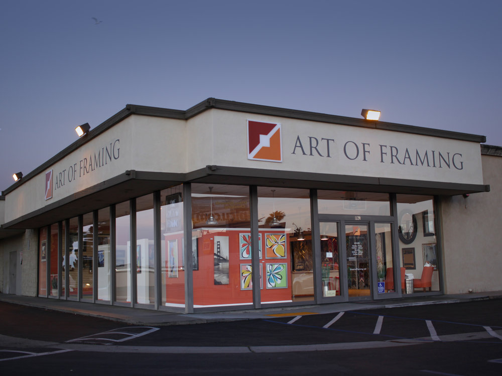 Learn more about Art of Framing...