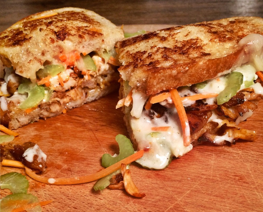 Our submission for the Grilled Cheese Recipe Showdown.