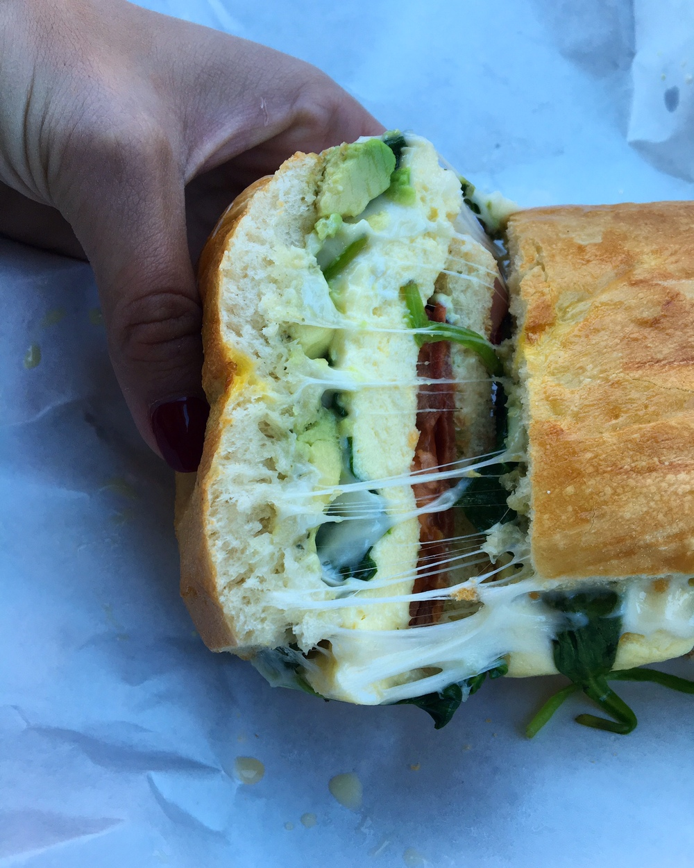 The Red Scooter Deli sits across from the park in Downtown Paso Robles. Their sandwiches are a great to-go option before hitting the road or picnicking.