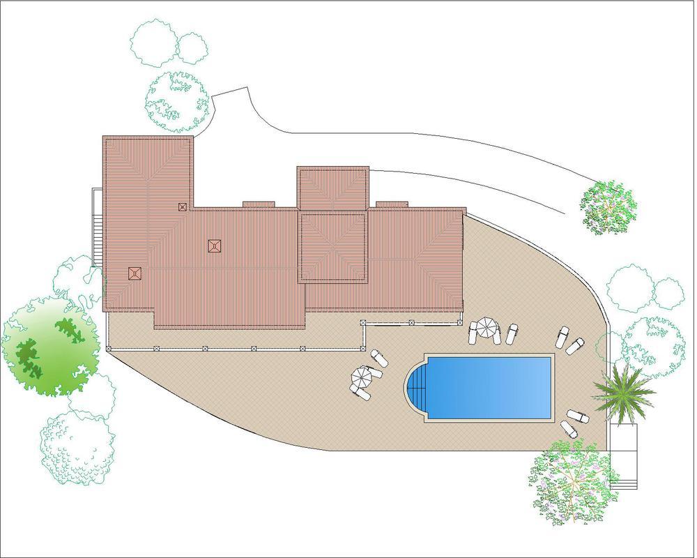 Roof plan