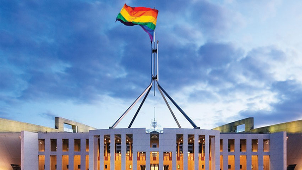 parliament rainbow flag.jpg