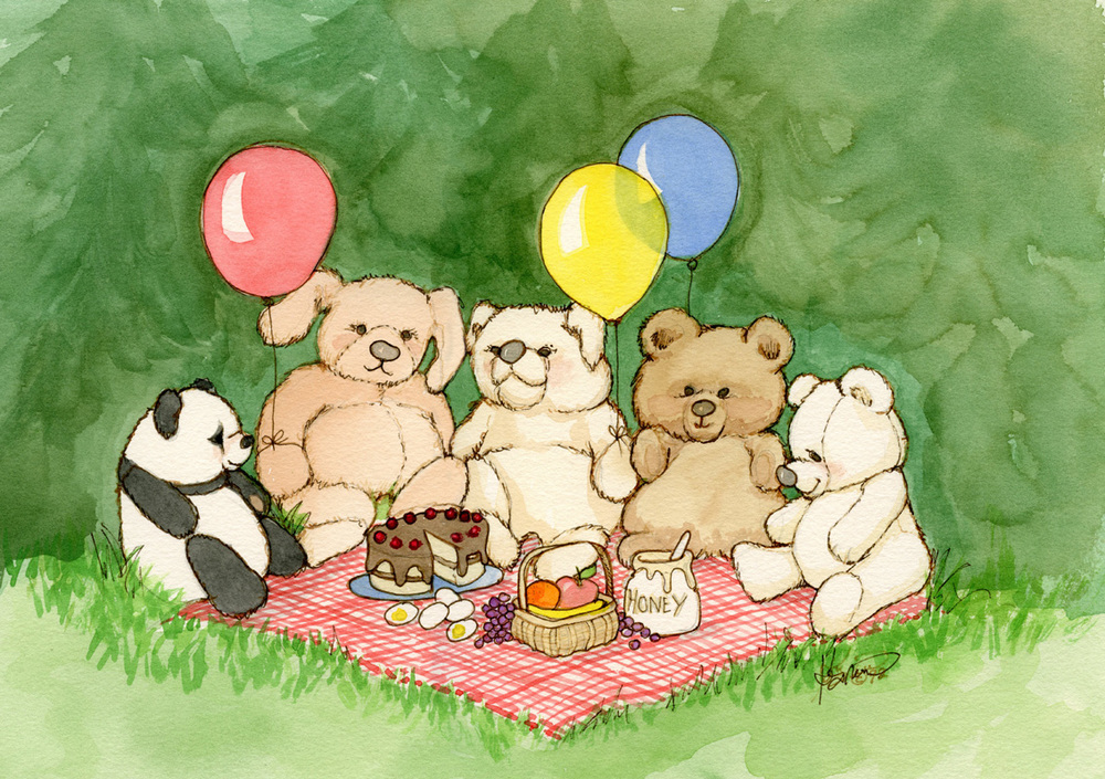 DO01 Teddy Bears' Picnic