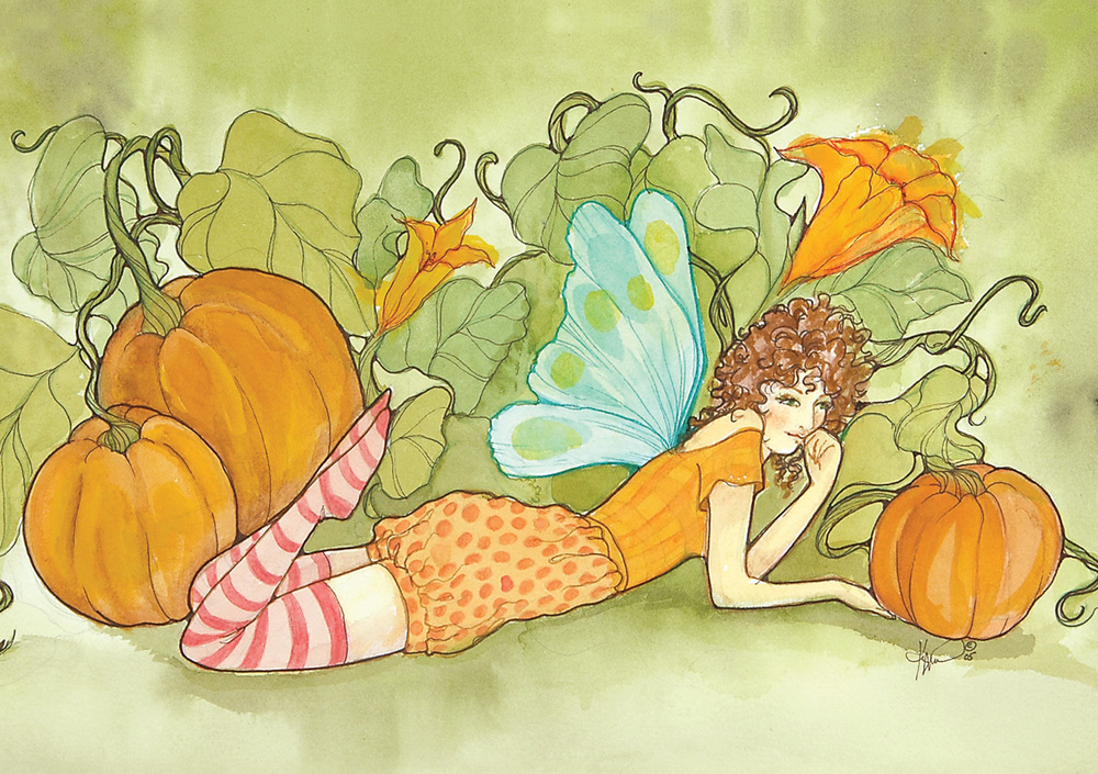FR19 Pumpkin Fairy