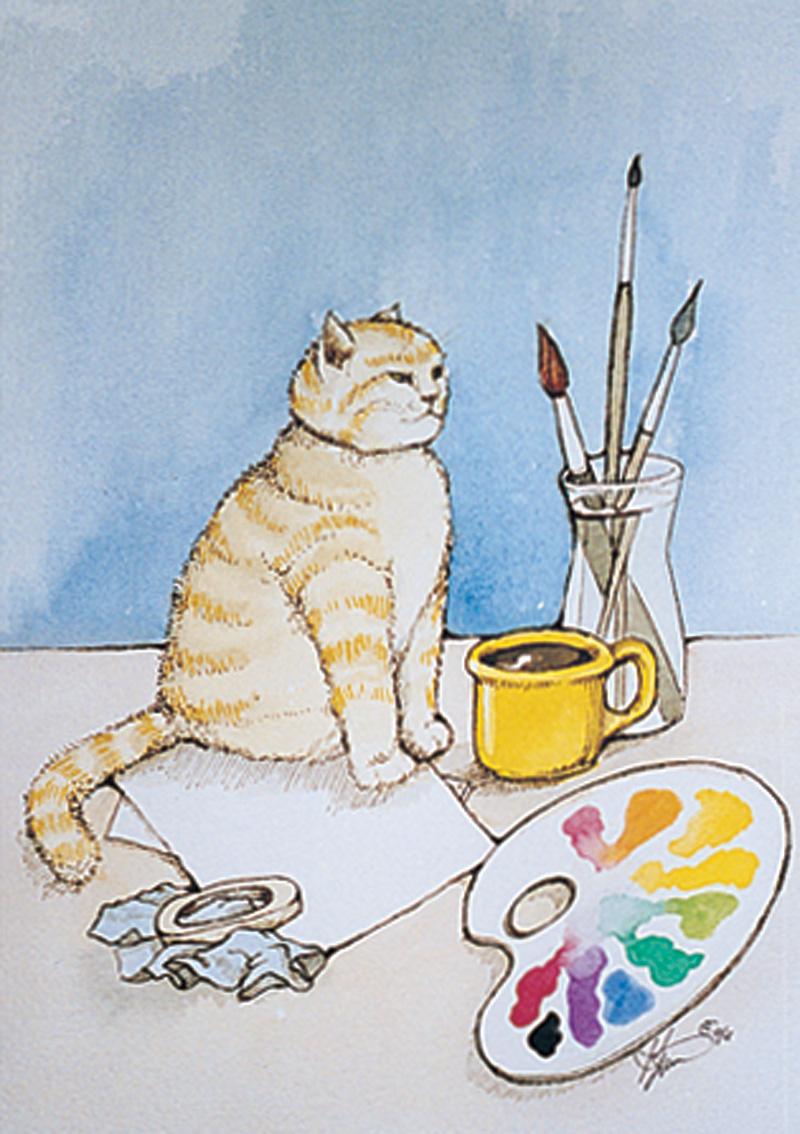 AN07 Studio Cat