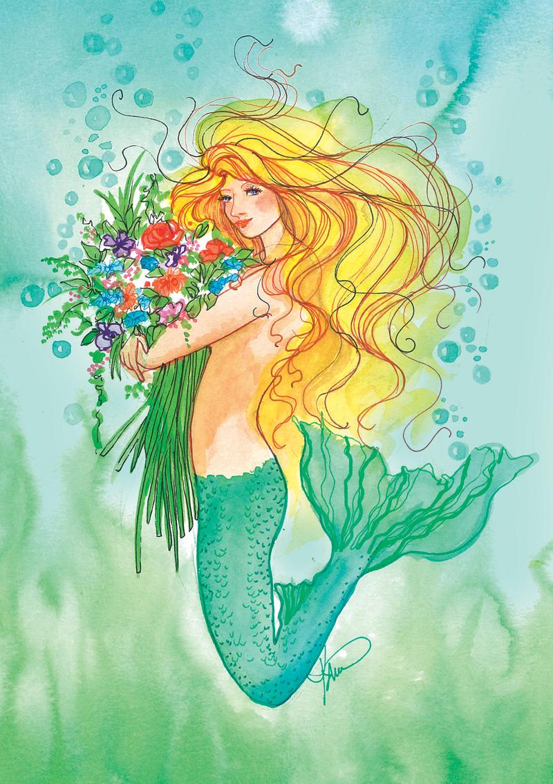ME58 Sea Flowers
