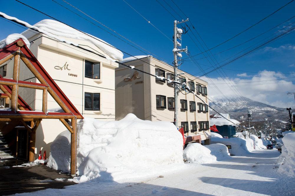M Lodge Outside