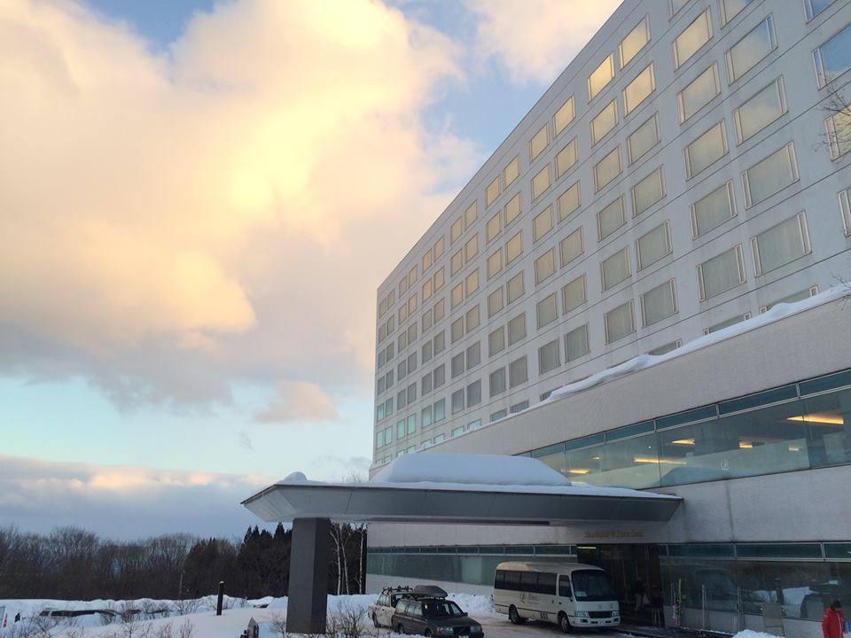 Prince Hotel Shizukuishi main entrance
