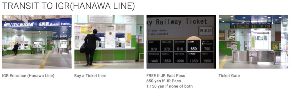Hanawa Line to APPI