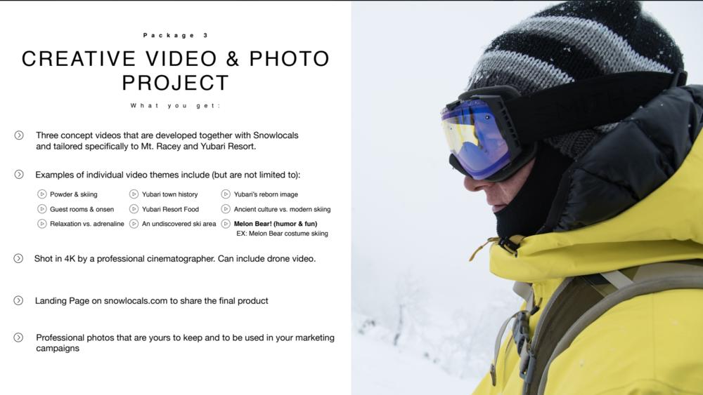 Yubari video project