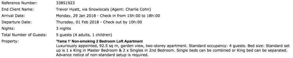 Furano lofts booking
