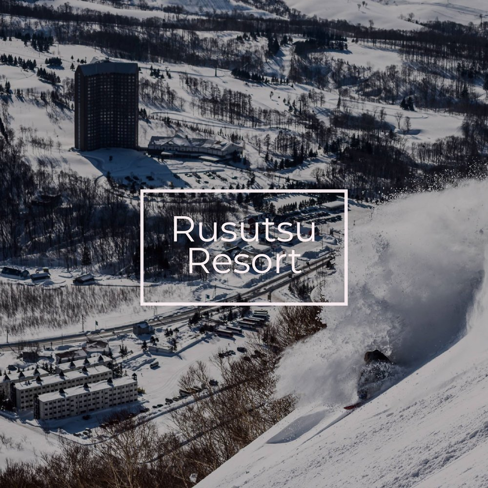 Rusutsu resort is one of the largest ski areas in Japan.