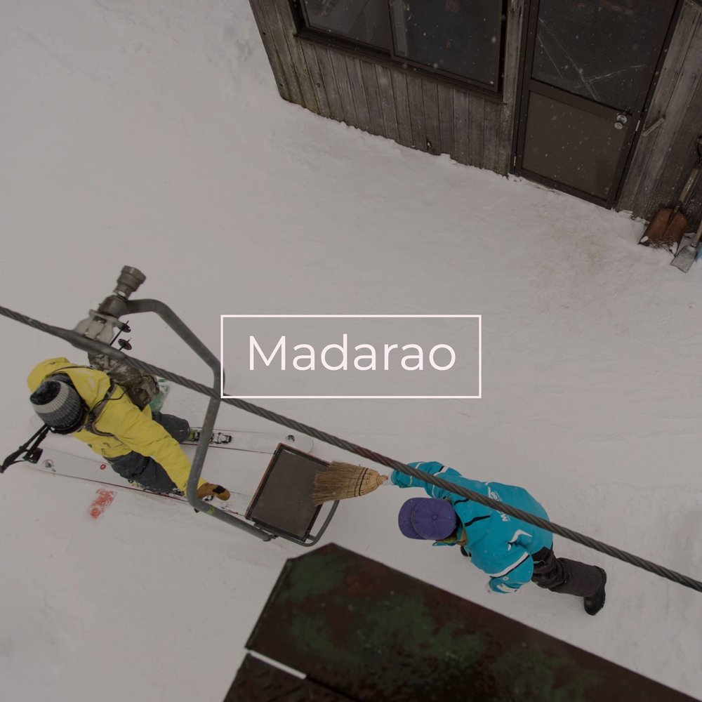 One turn in the deepest and lightest snow in Japan at Madarao Resort