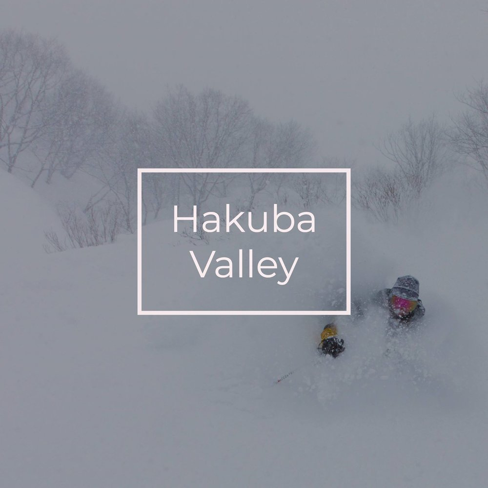 Hakuba Valley in Japan, this ski town lights up in the winter night.