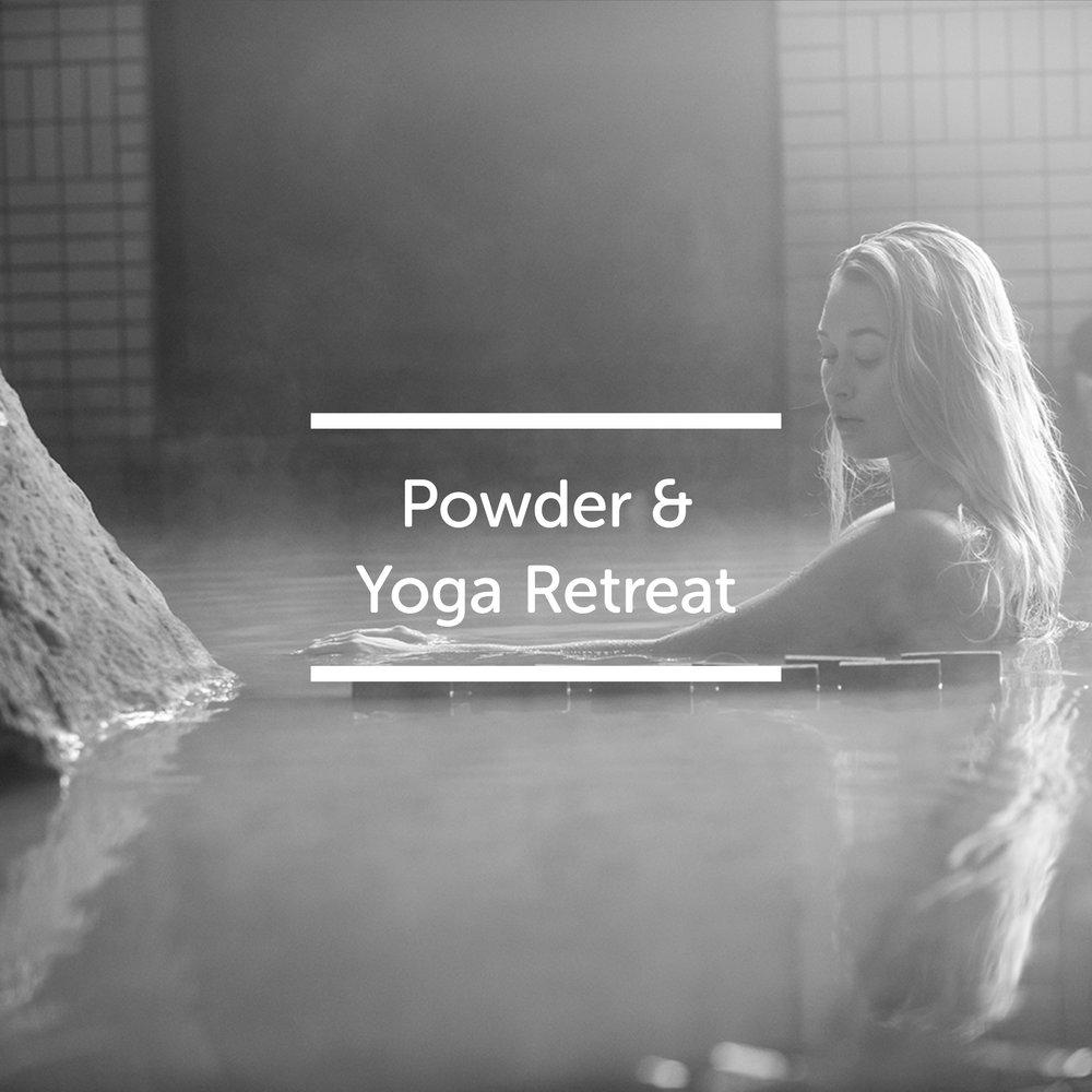 Snowlocals Pow & Yoga retreat