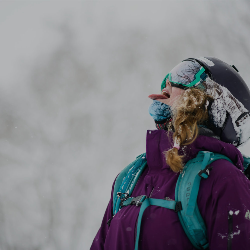 Check Back Later for our 2019/20 packages - Pow. yoga. Guiding. More pow.