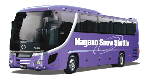 chartered bus from nagano