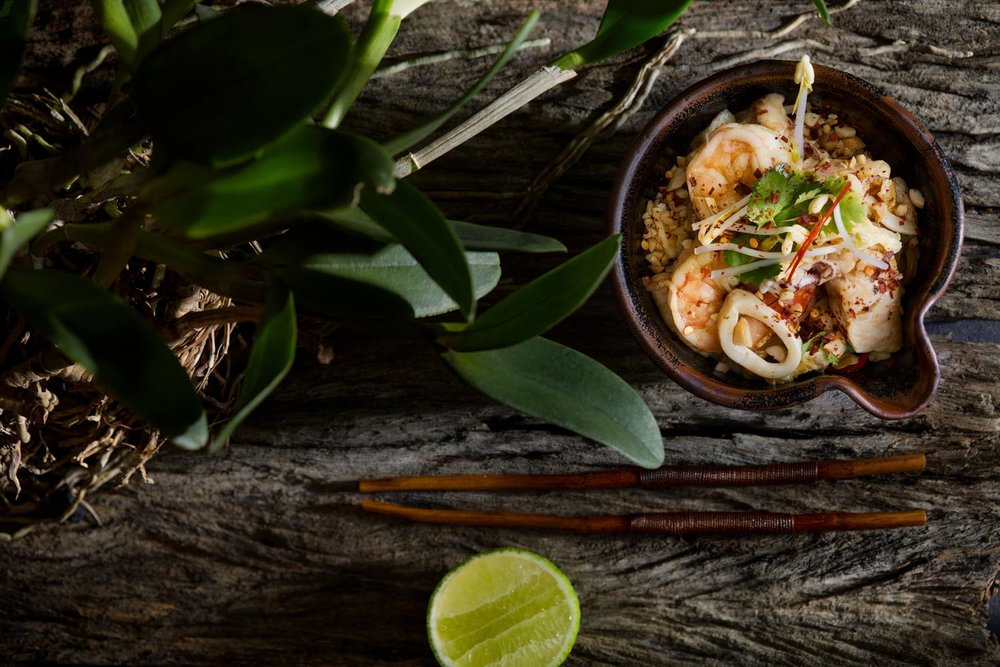 Seafood Pad Thai with fresh lime .jpg